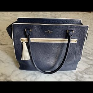 Kate Spade large purse navy